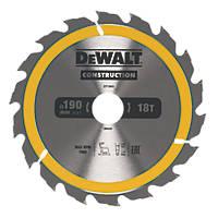 DeWalt Circular Saw Blade  190 x 30mm 18T
