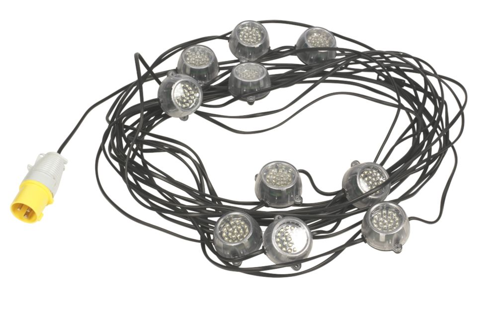 Defender LED Festoon Work Light String 110V
