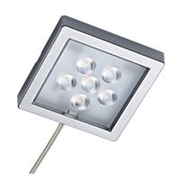 Sensio Largo LED Cabinet Surface Lights Aluminium 4 Pack