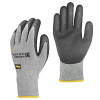Snickers Weather Flex Cut 5 Gloves Grey/Black Large