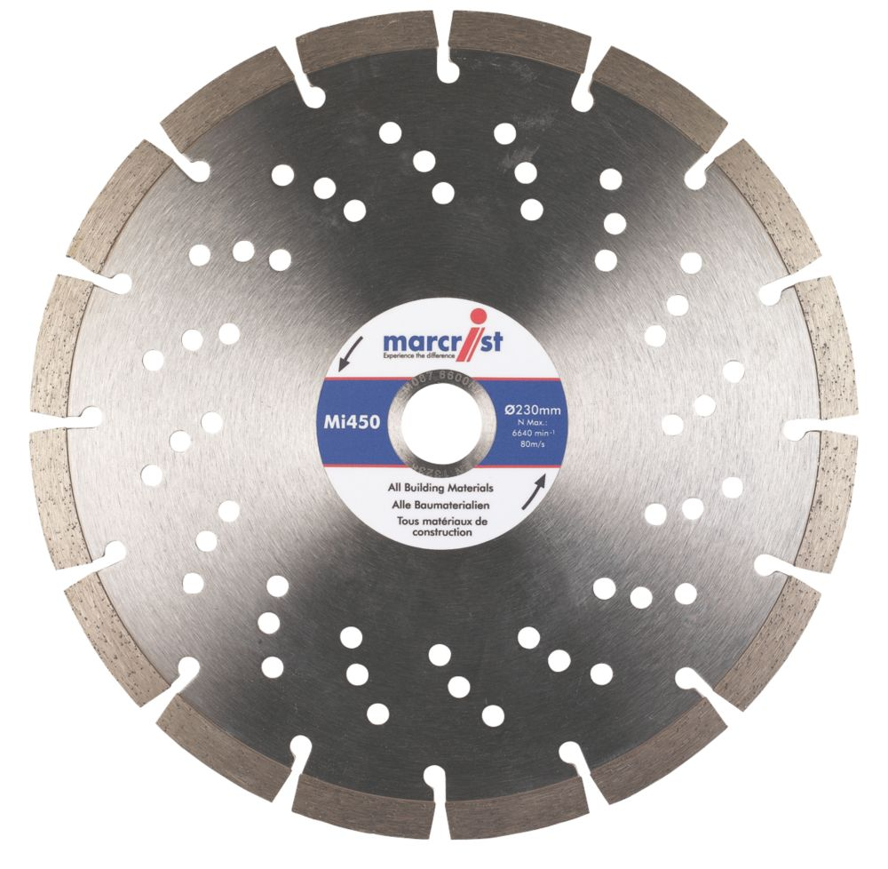 Marcrist MI450 Diamond Blade 230 x 22.23mm