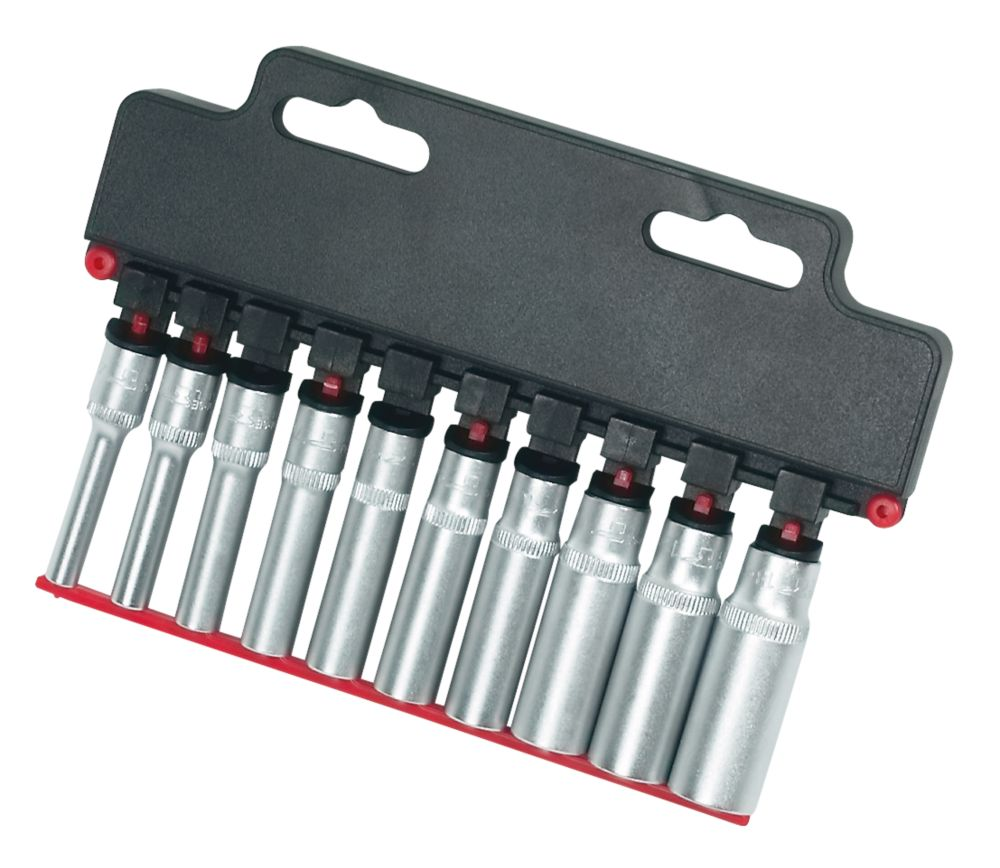 "Forge Steel ¼"" Deep Socket Set 10 Pieces"