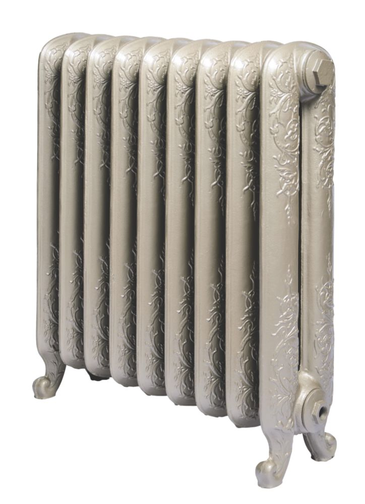Cast Iron Normandie 650 Designer Radiator Bronze H: 650 x W: 583mm
