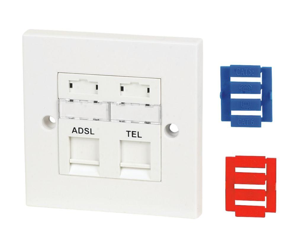 Philex ADSL Faceplate
