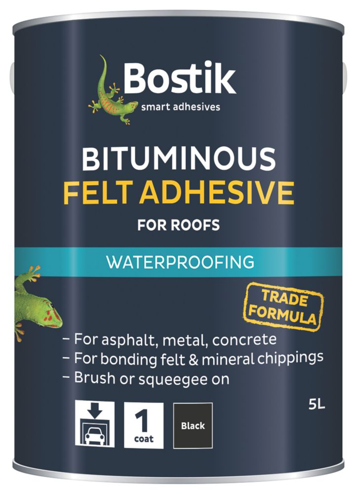 Cementone Feltfix Bituminous Roof Felt Adhesive 5Ltr