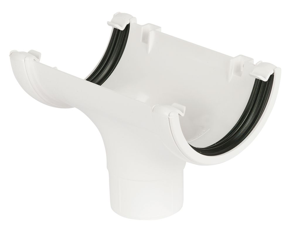 White Running Outlet 112mm