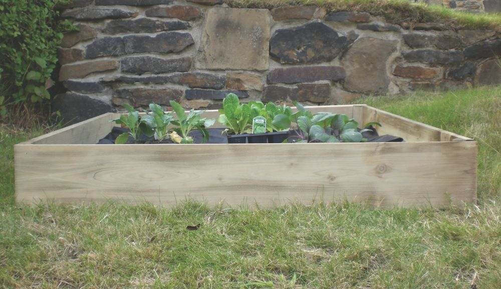 Apollo Square Raised Bed 1000 x 1000 x 200mm