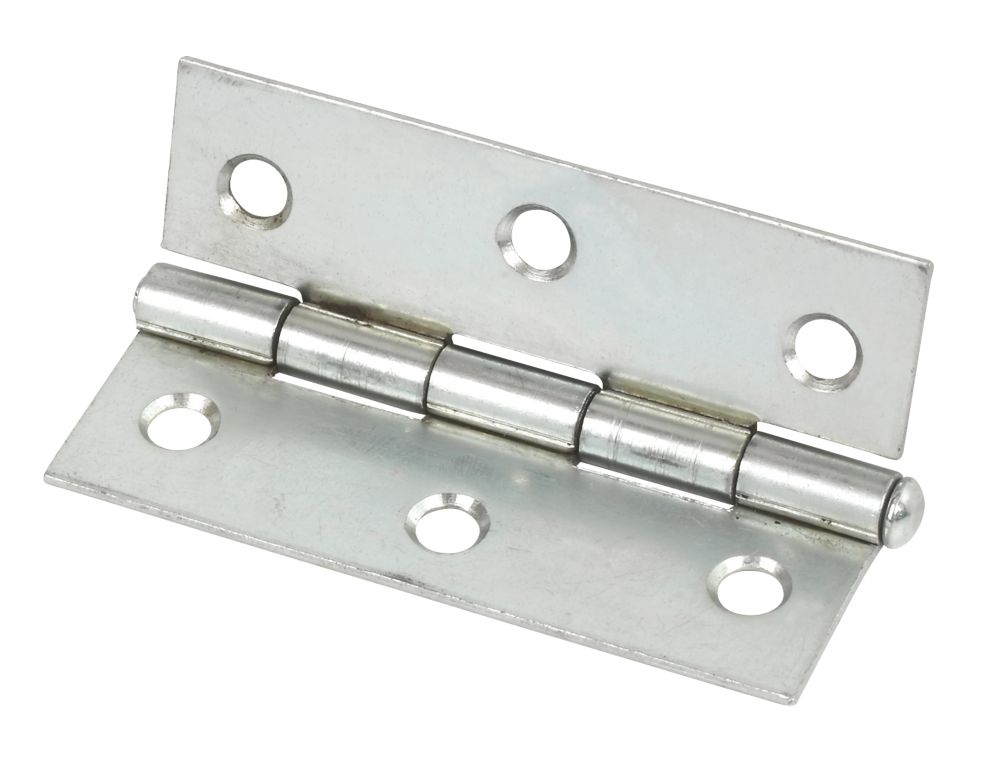 Steel Loose Pin Hinge Zinc-Plated 76mm Pack of 2