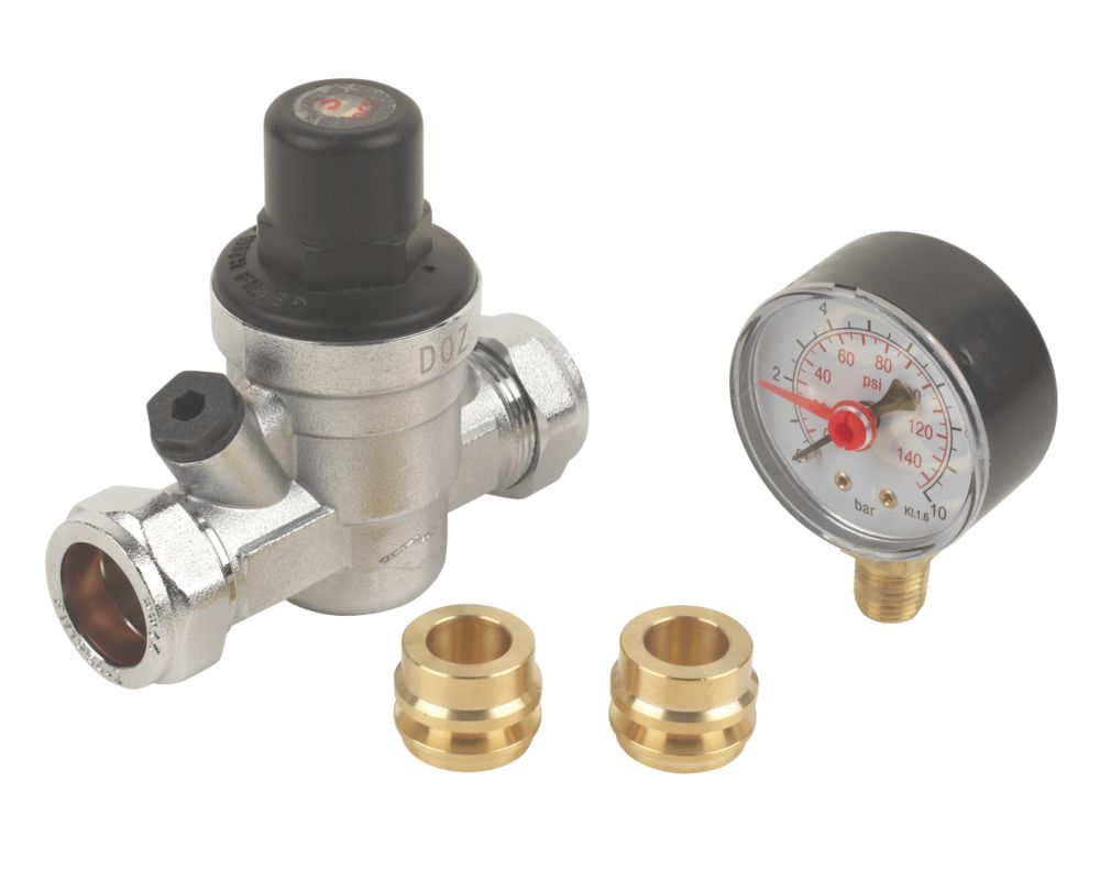 PRV with Gauge 15 x 22mm
