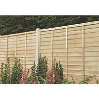 Forest Superlap Fence Panels 1.82 x 1.825m 5 Pack