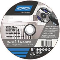 Norton Cutting Disc 230 x 1.9 x 22.23mm