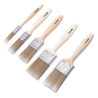 T-Class Synthetic Bristle Paintbrushes 5 Pcs