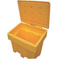 JSP Grit Salt Bin 250Ltr Yellow