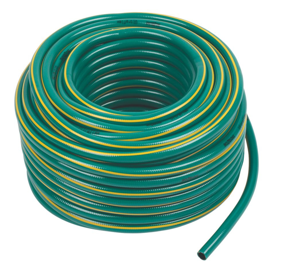 "Hozelock Ultra Flexible Hose Green 50m x ½"" (13mm)"
