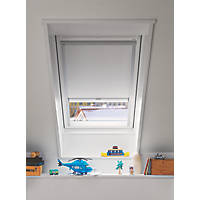 Velux DML MK04 1025S Mains Electric Roof Window Blackout Blind White