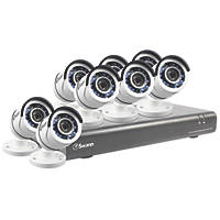 Swann SWDVK-164558-UK 16-Channel CCTV DVR Kit & 8 Cameras