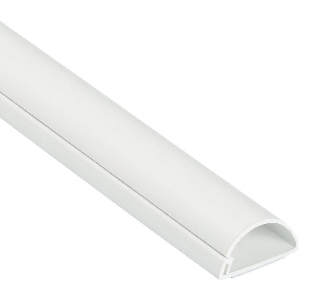 D-Line Mini Trunking 30mm x 15mm x 2m White