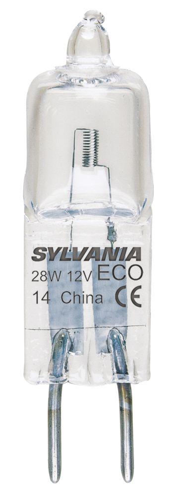 Sylvania Halogen ECO Lamp Capsule GY6.35 500Lm 28W