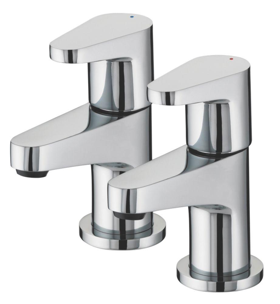 Bristan Quest Bathroom Basin Taps Pair