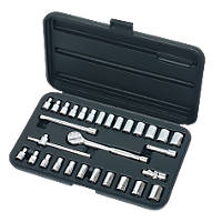 "Socket Set ¼"" 30 Pieces"