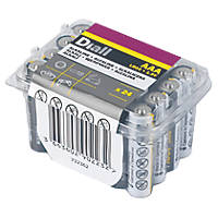 Alkaline AAA Batteries 24 Pack