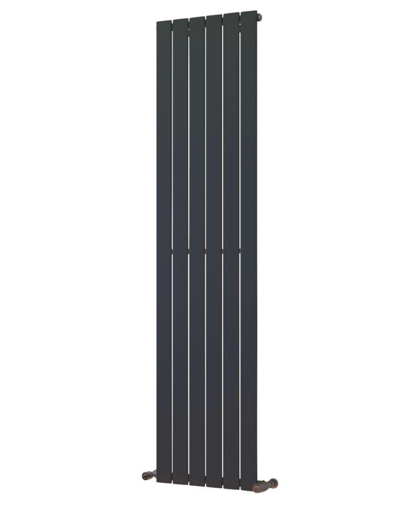 Oceanus Universal Designer Radiator Anthracite 1800 x 445mm 2836BTU