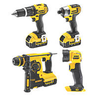 DeWalt DCK454M3T-GB 18V 4.0Ah Li-Ion XR  Cordless 4-Piece Power Tool Kit