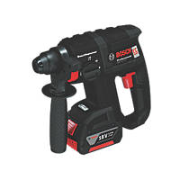Bosch GBH 18V-EC Black 2kg 18V 3.0Ah Li-Ion SDS Plus Brushless Rotary Hammer Drill