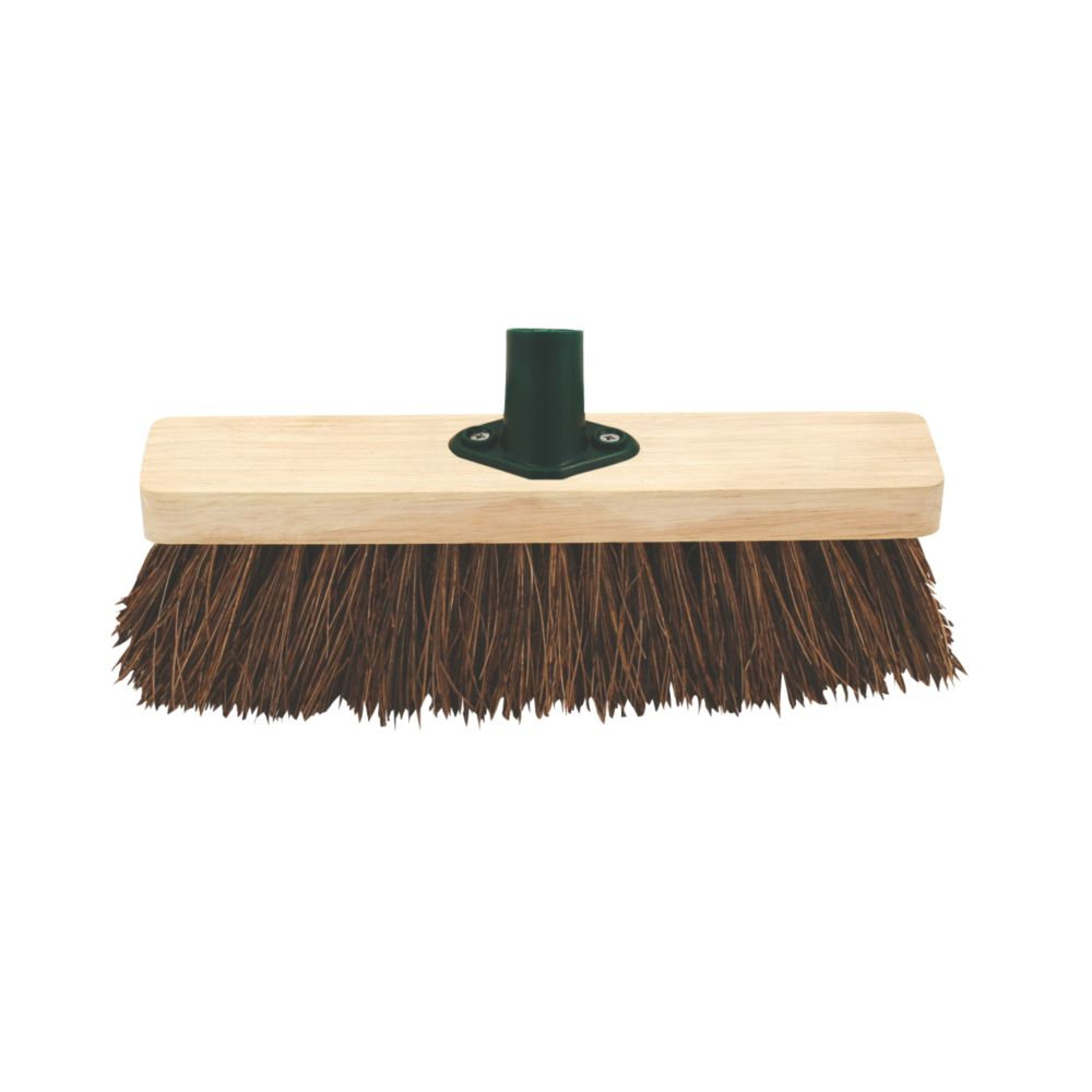Stiff Broom Head & Bracket 11½""