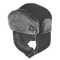 Hyena Trapper Hat Black