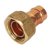 Yorkshire YPS62 Solder Ring Straight Tap Connector 15mm x ¾""
