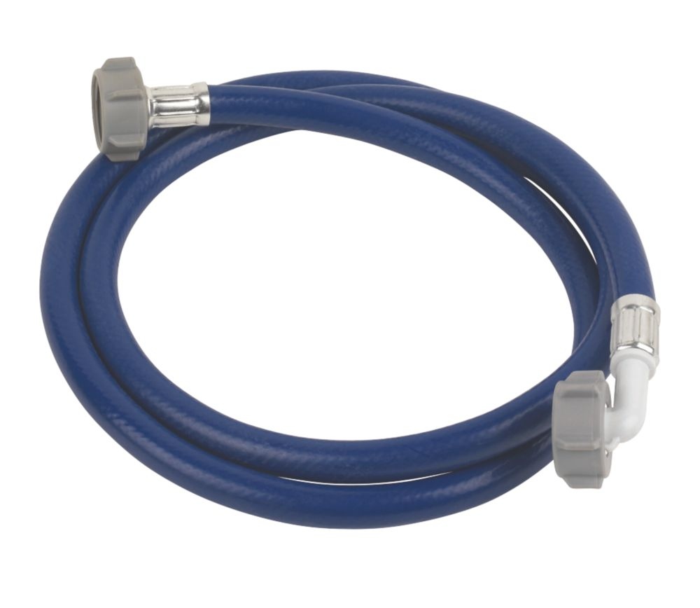 "Washing Machine Hose Blue 1.5m x ¾"" BSP"