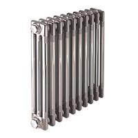 Acova  3-Column Horizontal Designer Column Radiator Raw Metal 600 x 812mm