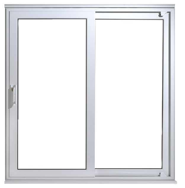 uPVC 7ft Patio Door White 2090 x 2090mm