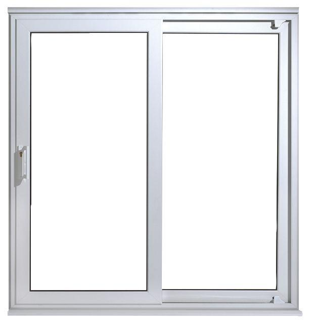 uPVC 7ft Patio Door White 2090 x 2090mm