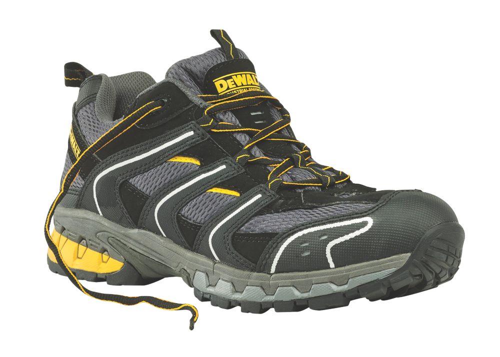 DeWalt Cutter Safety Trainers Grey / Black Size 8