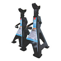 Hilka Pro-Craft 2-Tonne Ratchet Axle Stands Pair