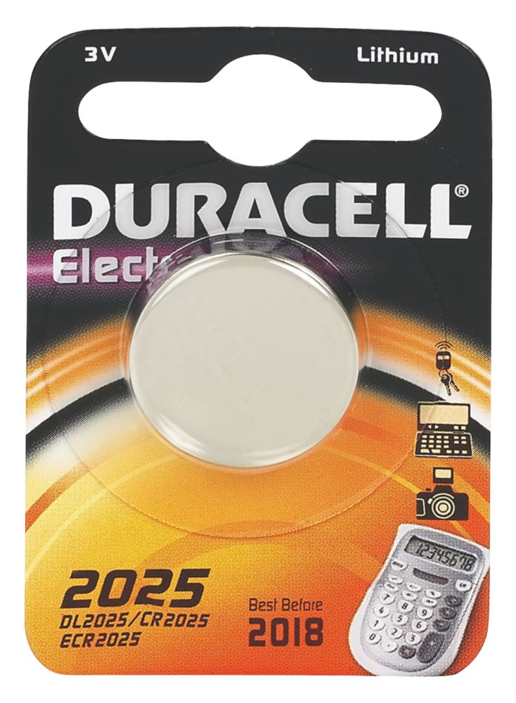 Duracell 2025 3V Li-Ion Coin Cell Battery