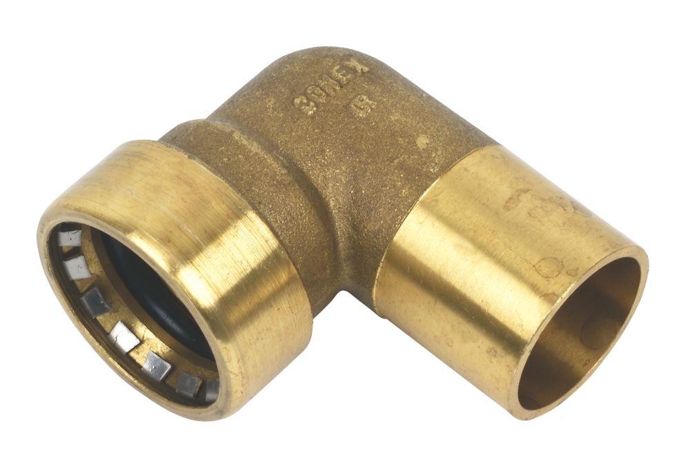 Conex Push-Fit 040 Street Elbow 28mm