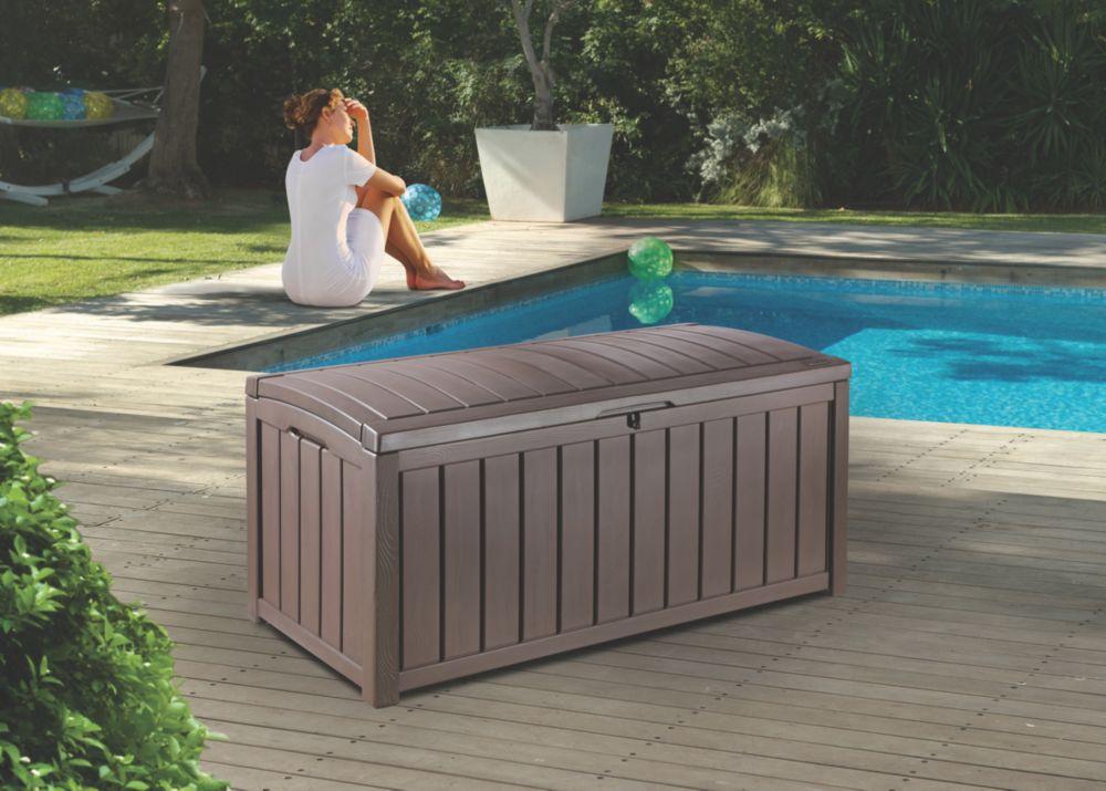 Keter Glenwood Garden Deck Box 1.2 x 0.6 x 0.6m