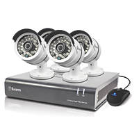 Swann SWDVK-846004-UK 8-Channel CCTV Security Kit & 4 Cameras