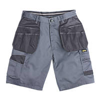 "Site Hound Multi-Pocket Shorts  Grey / Black 40"" W"