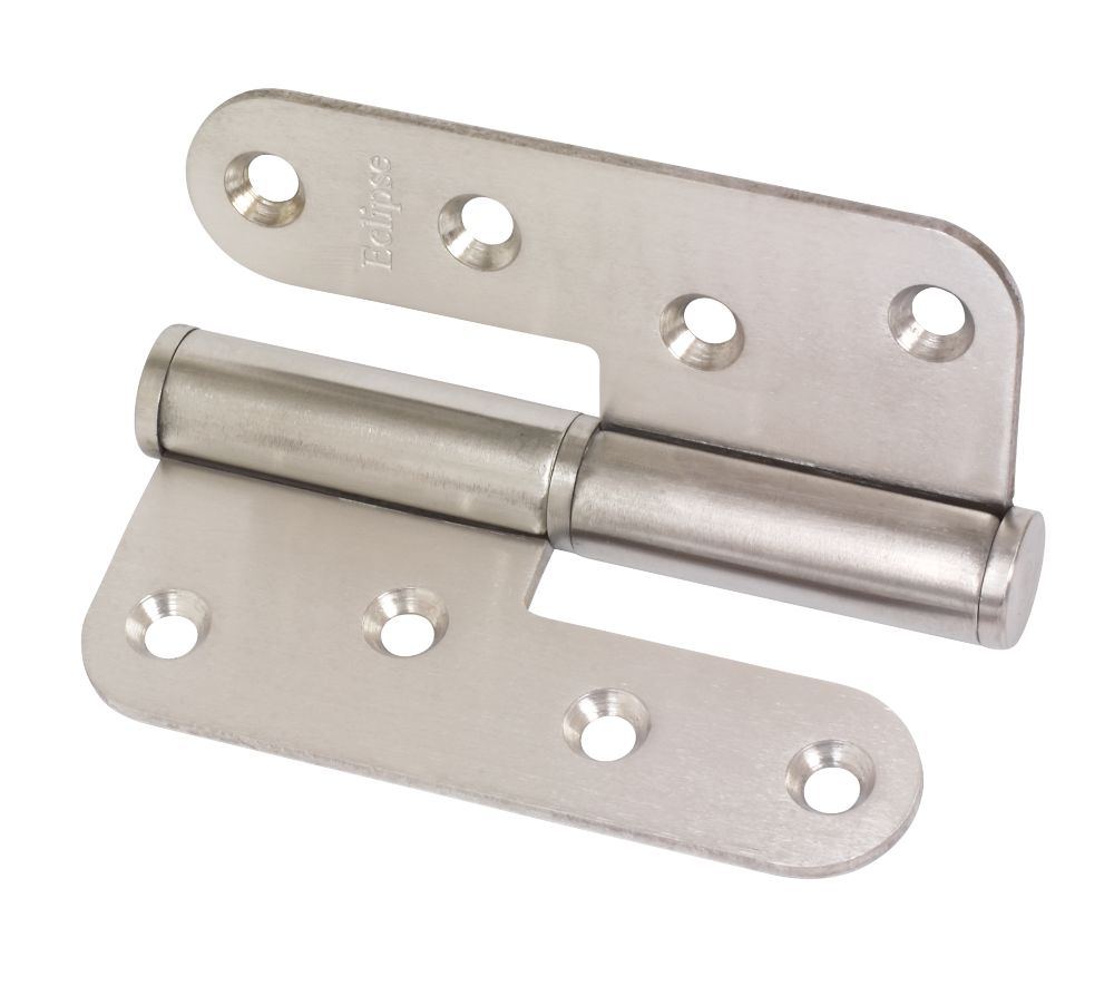 Lift-Off Hinge Satin Stainless Steel 102 x 89mm Right Hand Pack of 2
