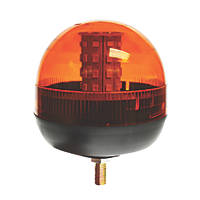 Maypole Amber Surface-Mounted LED Beacon 40 x 3W 260mm