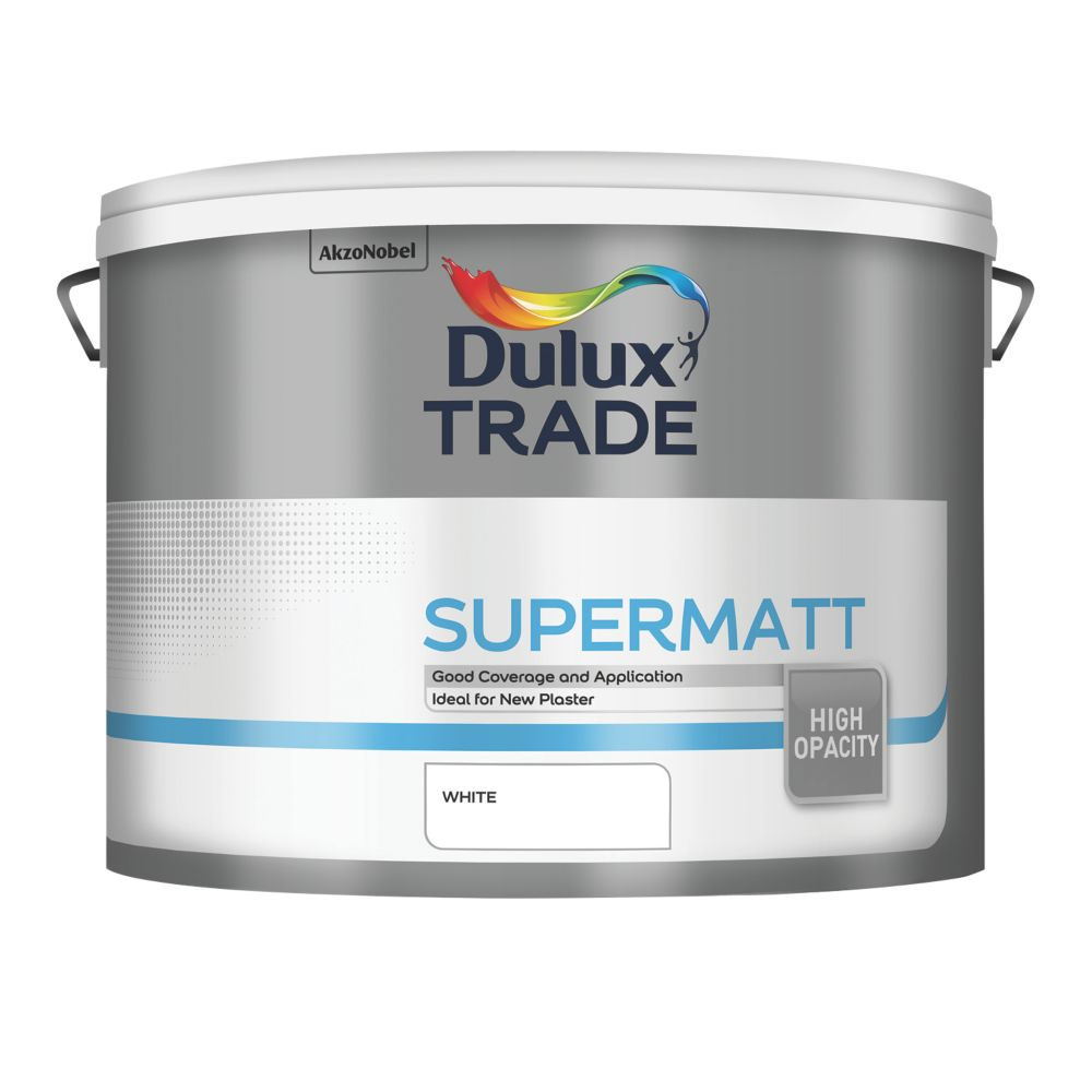 Dulux Trade Supermatt 10L White