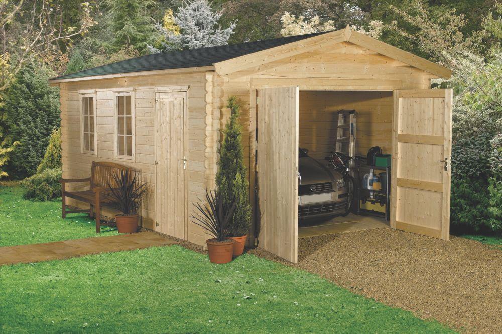 Finnlife Koppelo 210 Log Cabin 3.8 x 5.3 x 2.7m