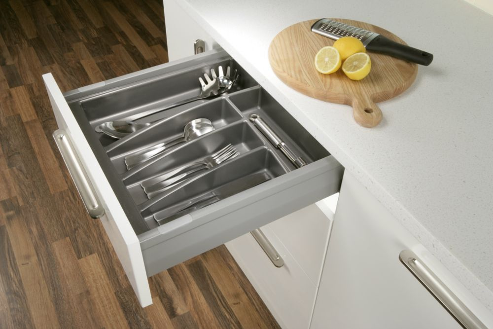 Cutlery Tray for 600mm Cabinet Matt Anthracite