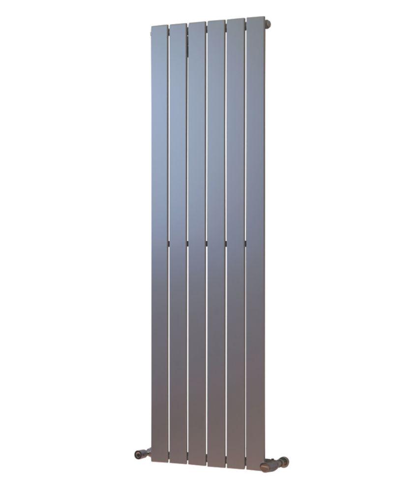 Oceanus Universal Designer Radiator Silver 1500 x 445mm 2399BTU