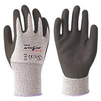 Towa ActivGrip Omega Cut-Resistant Gloves Black / Grey Extra Large
