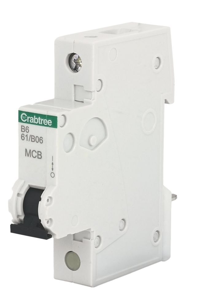 Crabtree 6A SP Type B Curve MCB